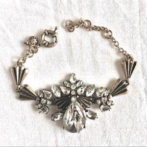 JCrew Crystal Bracelet